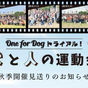 犬と人の運動会2020